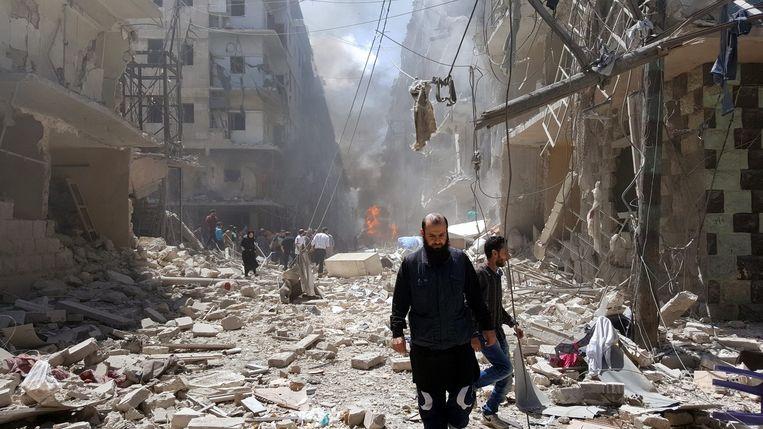 Bustan Al Qasr, Aleppo Beeld epa