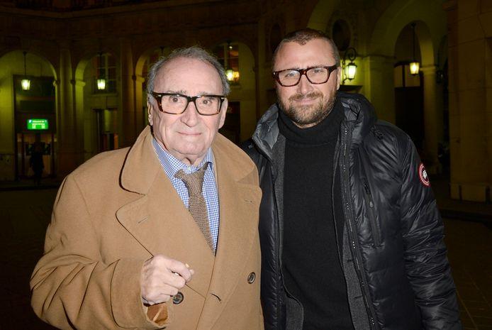 Claude Brasseur et son fils Alexandre.