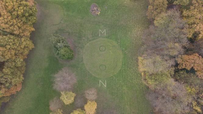 Mysterieuze grascirkel in kasteelpark blijkt stunt voor lancering 'Full Moon Gin'