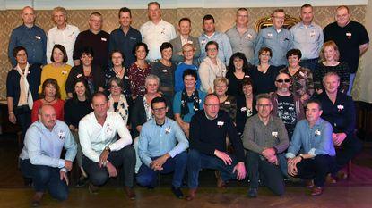 Feest voor 50-jarigen in feestzaal Mieke Pap