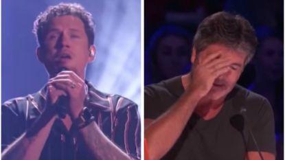 Wauw, deze zanger brengt zelfs Simon Cowell aan het huilen in 'America's Got Talent'