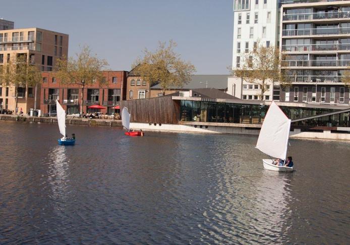 De Piushaven in Tilburg.