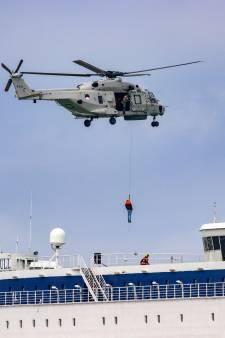 Ministers: Evacuatie met heli's vanaf cruiseschip in nood moet sneller