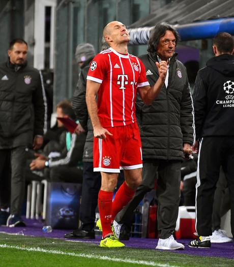 Bayern zonder geblesseerde Robben naar Mönchengladbach