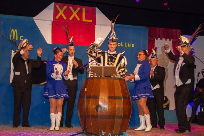 De nieuwe prins carnaval van Het Olde Tollus in Lobith en Tolkamer is Rob Barten.