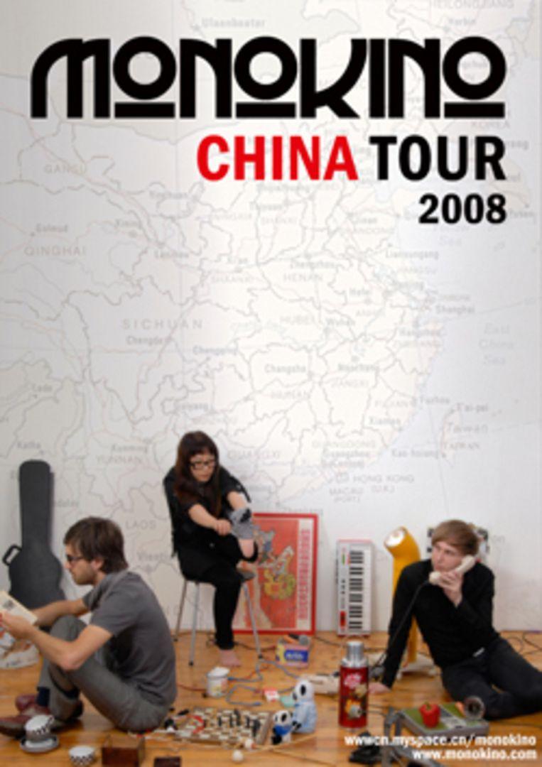 Monokino China Tour affiche Beeld