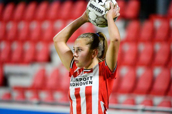 PSV-speelster Janou Levels