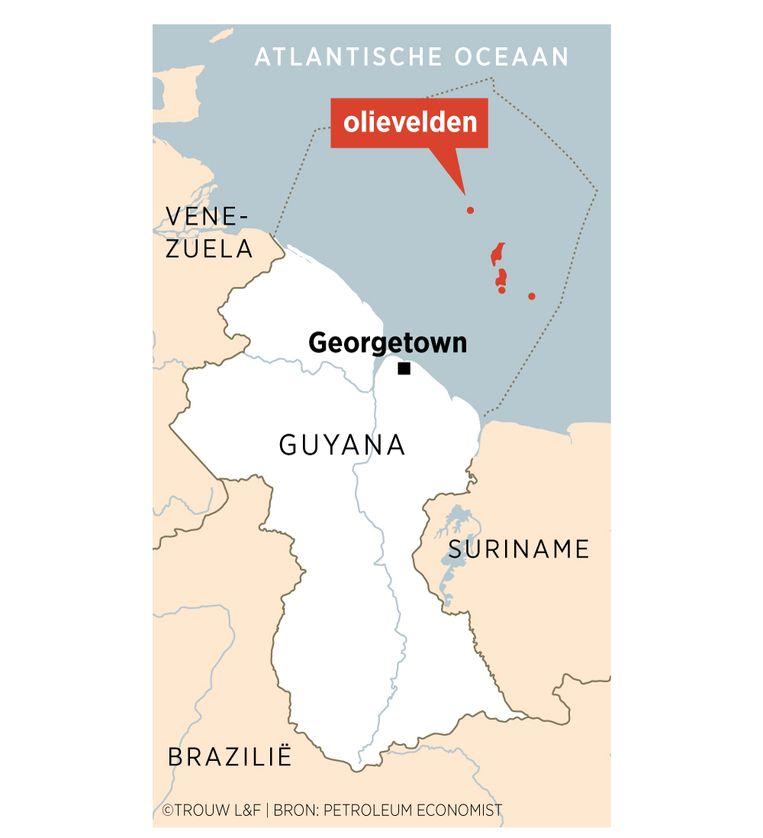 Olievelden Guyana Beeld Louman & Friso