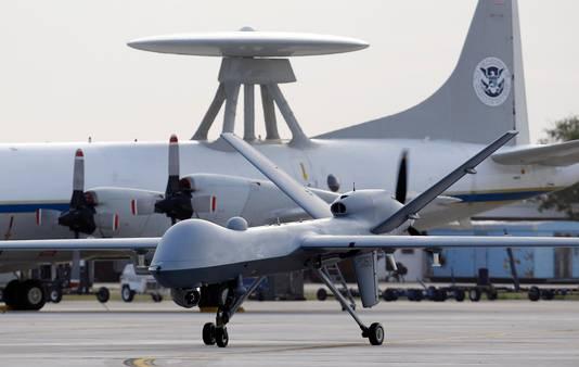 Een Predator B-drone van het Amerikaanse leger