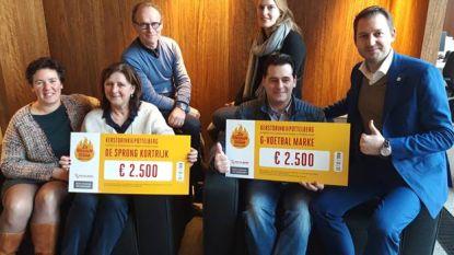 Kerstdrink Pottelberg brengt 5.000 euro voor goeie doelen op