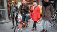 Vrijwilligers brengen al fietsend Roeselaarse luchtkwaliteit in kaart