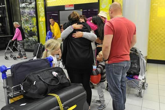 Zaterdag kwamen er al Nederlandse toeristen terug met een extra vlucht