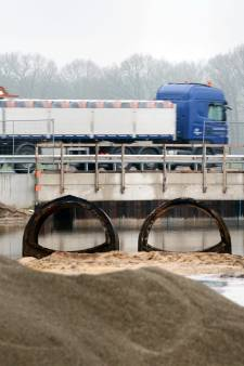 Tunnels onder N348 laten nog maanden op zich wachten
