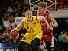 """Christophe Beghin en Antwerp Giants kraken in de slotfase tegen BC Oostende: """"Ondanks de nederlaag was dit een uitstekende test"""""""