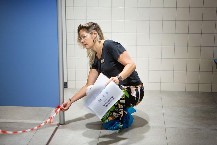 Linda Klein Brinke. Beeld Maarten Hartman