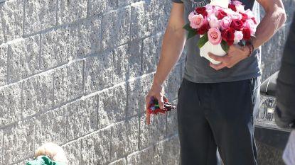 Fergie's ex-man, Josh Duhamel, brengt haar bloemen na volkslied-fiasco