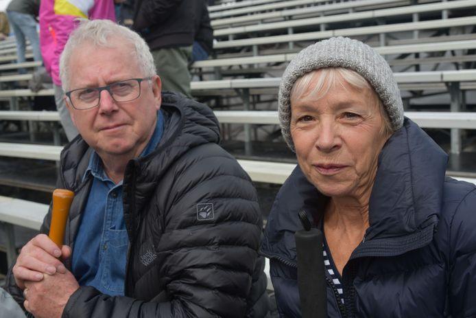 Henri Jacobs en Jeanine Groenez uit Elewijt kwamen met de trein naar Brussel.