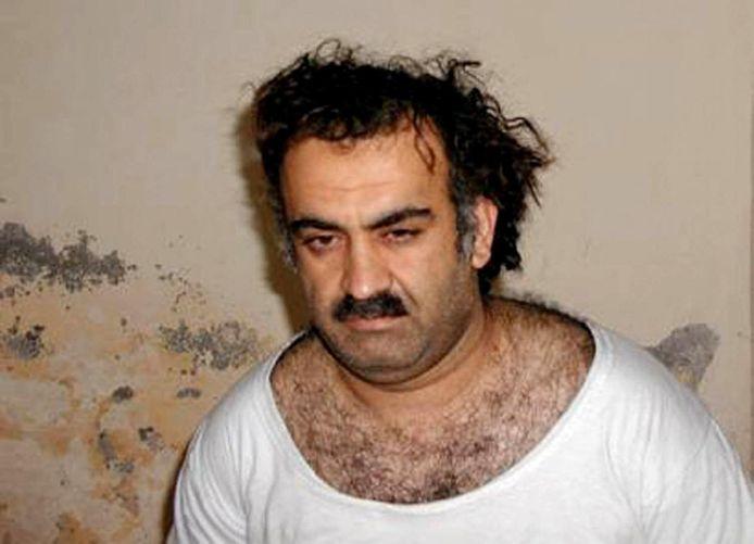 Khalid Sheikh Mohammed vlak na zijn gevangenname in 2003.