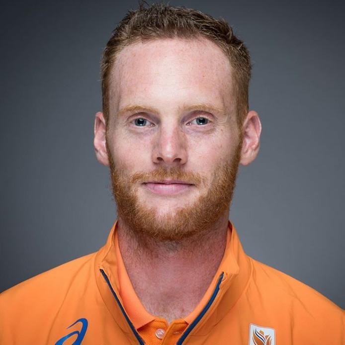 Atleet Luc Schout van GAC Gemert.