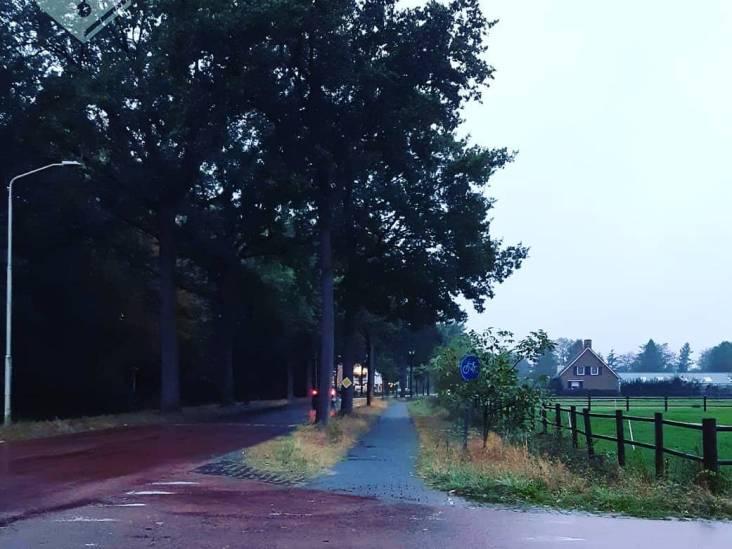 Fietser raakt zwaargewond in Oirschot door losliggende klinker