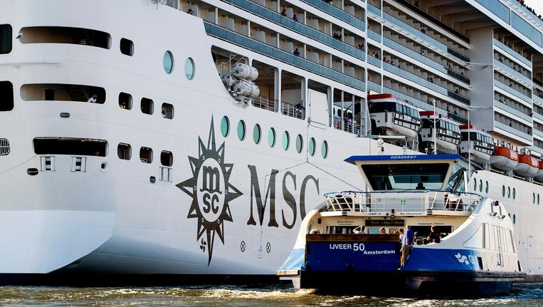 MSC: 'We voelen ons niet serieus genomen door de Amsterdamse politiek.' Beeld anp