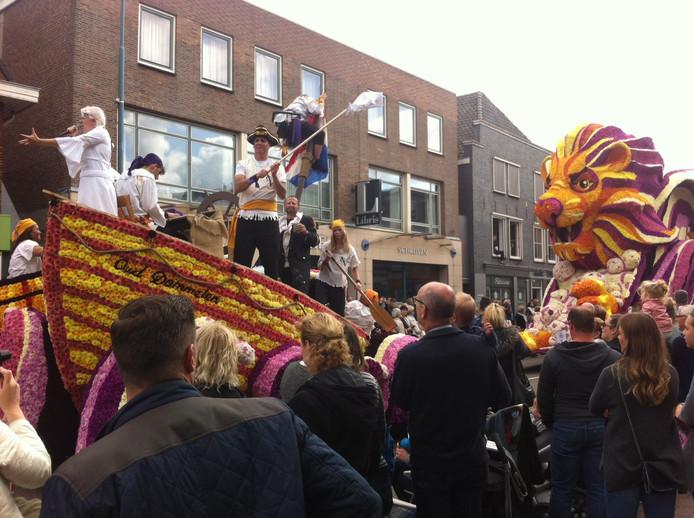 De wagen 'De Vliegende Hollander' van Oud Dommelen.