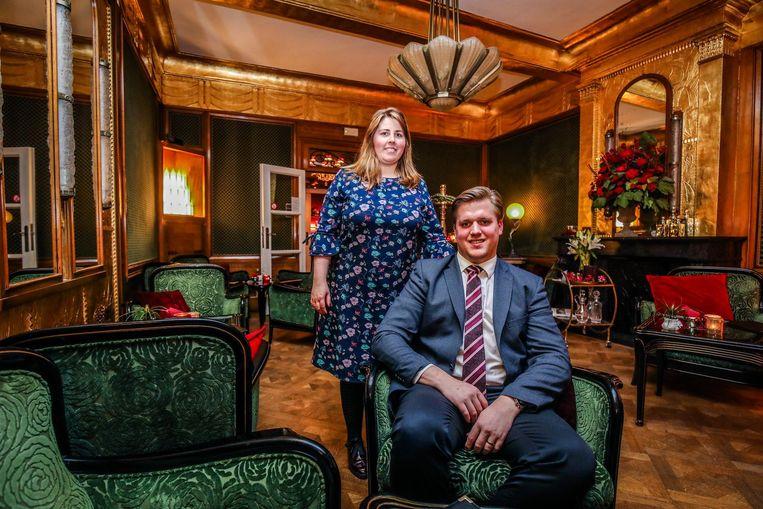 Joachim Meersseman en Delphine Christiaens van hotel De Castillion winnen Hospitality-award.
