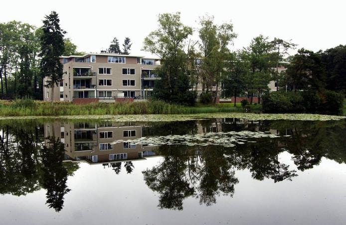 Het eerste complex van Moorwijk dat projectontwikkelaar Van Esch liet bouwen.