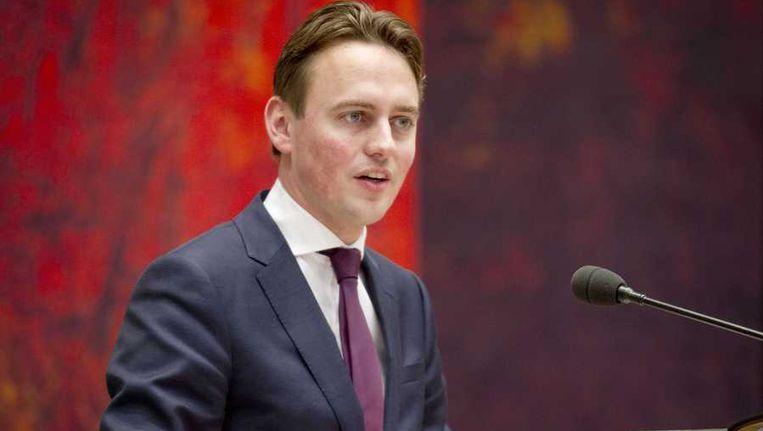 PvdA-kamerlid Henk Nijboer in de Tweede Kamer tijdens het debat over de over de nationalisatie van SNS Reaal Beeld anp