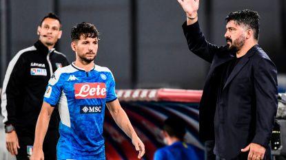 "Napoli-coach Gattuso zag historische treffer Mertens als keerpunt: ""Goal bevrijdde ons"""