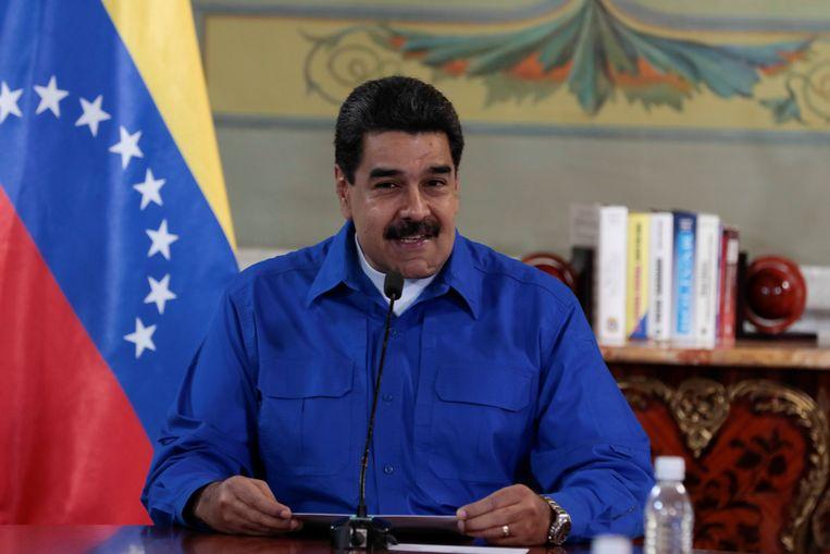 """President Maduro noemt Rajoy """"een hypocriet"""" voor zijn reactie op het referendum in Catalonië."""