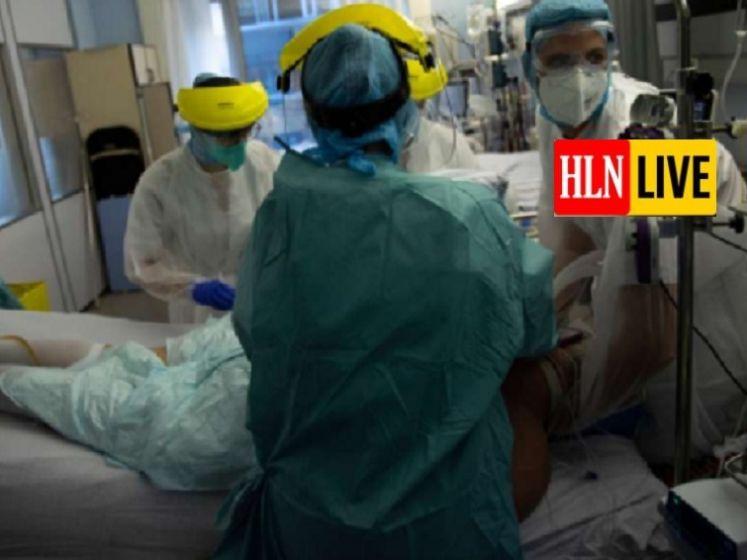 LIVE. Patiënten in hermetische plastic cocons: VTM Nieuws krijgt toegang tot een van zwaarst getroffen ziekenhuizen van dit moment