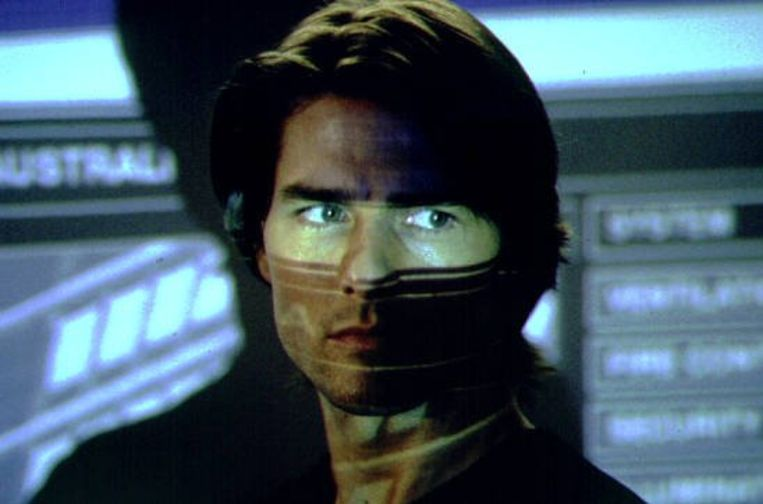 Tom Cruise in Mission: Impossible 2 (John Woo, 2000). Beeld