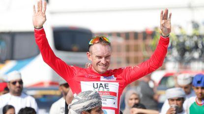 """Kristoff stuurt ploegmaat Gaviria boodschap uit Oman: """"Ik ben ook nog snel"""""""