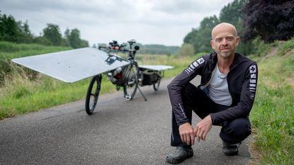 Raf Van Hulle op kop bij The Sun Trip-race