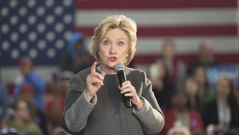 Hillary Clinton. Beeld photo_news