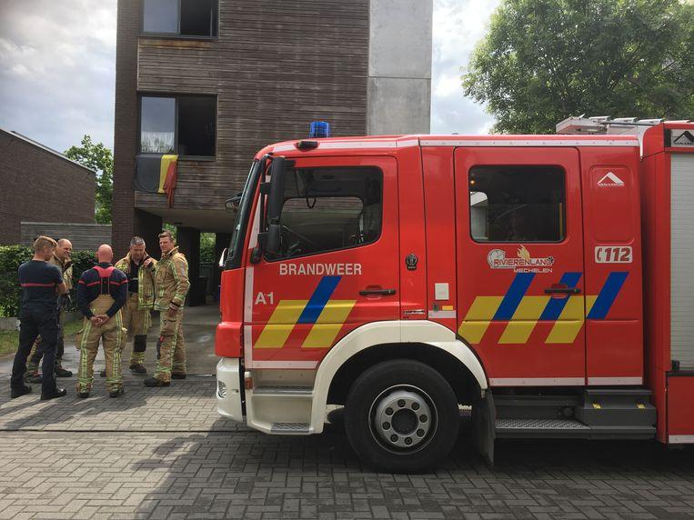De brandweer moest enkele een controle uitvoeren en ventileren. De schade bleef beperkt