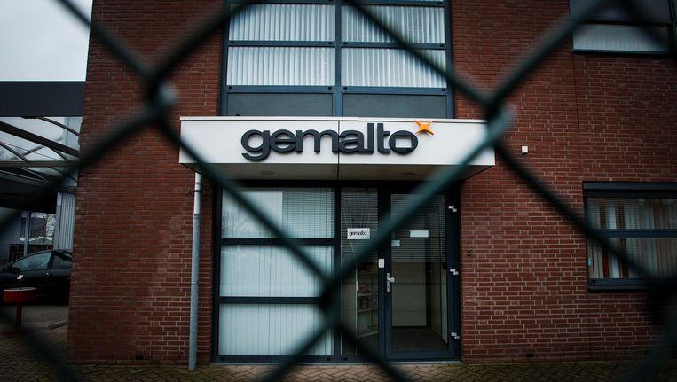 Exterieur van een vestiging van Gemalto Beeld anp