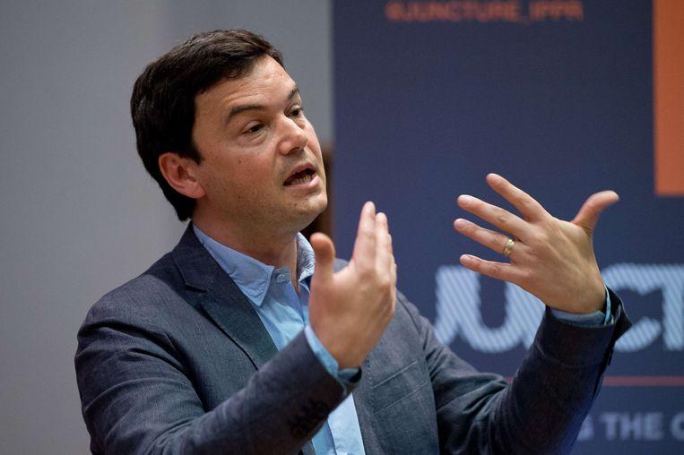 Thomas Piketty. Beeld null