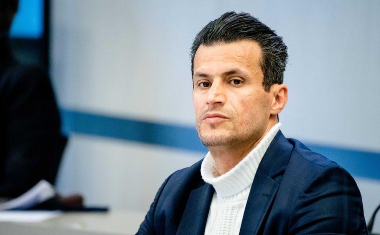 Farid Azarkan (DENK) vanochtend tijdens de hoorzitting in de Tweede Kamer over het coronavirus.  Beeld ANP