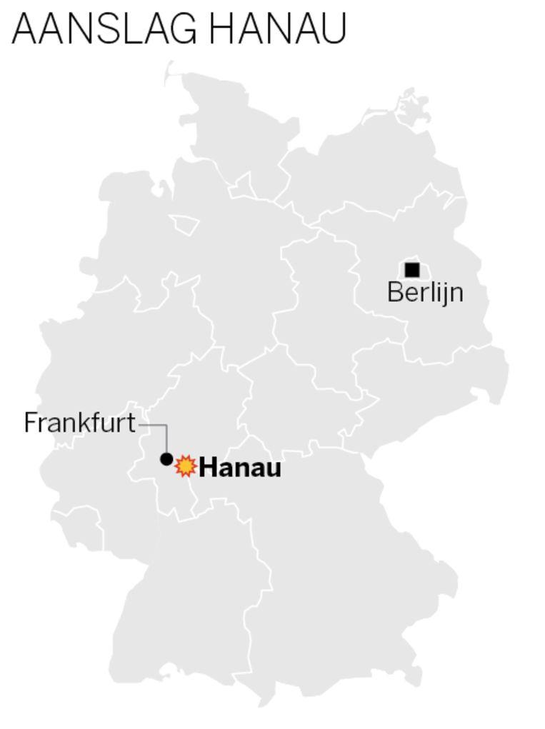 Hanau is een gemeente in de deelstaat Hessen. Beeld de Volkskrant