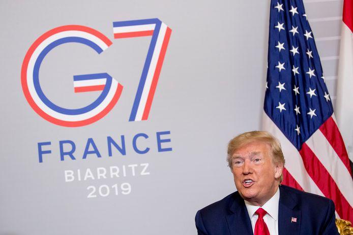 """Trump zelf sprak niet met de Iraanse minister van Buitenlandse Zaken. """"Te vroeg"""", klonk het."""