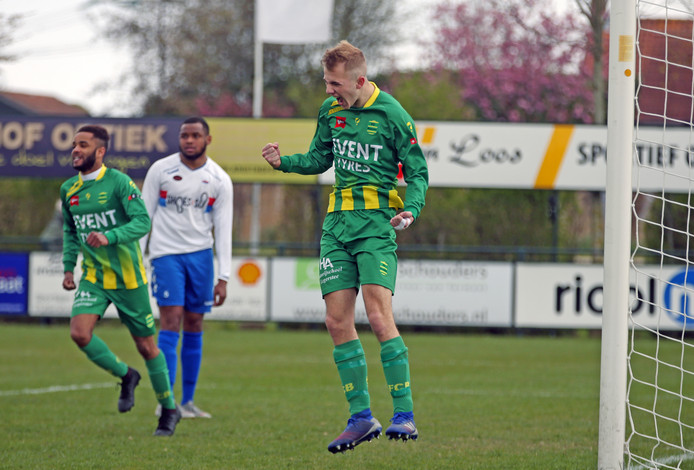 Door de winst op Botlek speelt FC Binnenmaas zaterdag tegen GHVV'13 om de titel.