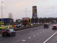 Files in Twente op A35 en A1 door ongelukken: wegen weer vrij