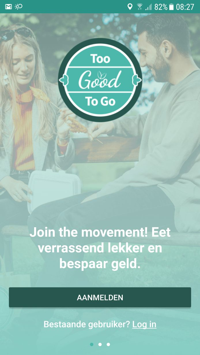 De Too good to go app