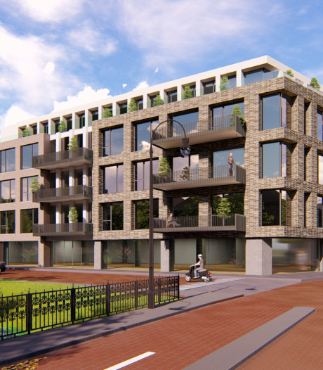 Facelift van 'lelijk gebouw' kan doorgaan, maar het mag niet te hoog worden