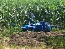Vaten met drugsafval gevonden aan de Nuenensedijk in Helmond