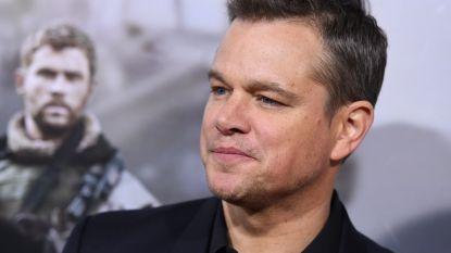 """Matt Damon biedt excuses aan voor uitspraken: """"Ik kan beter een tijdje mijn mond houden"""""""