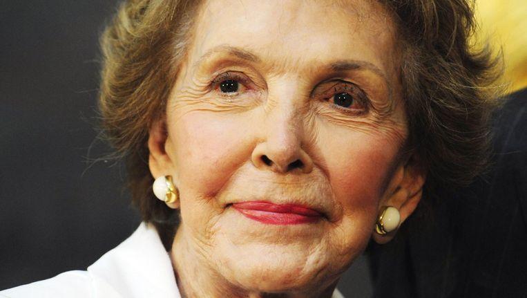 Voormalig First Lady, Nancy Reagan, die 6 maart 2016 is overleden. Beeld anp