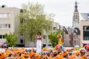 Koningsdag 538 van start op Chasseveld in Breda.